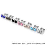 Her Jewellery 7 Days Princess Earrings - Anting Crystals Swarovski®