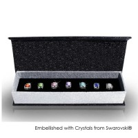 Her Jewellery 7 Days Earrings Set - Anting Crystals from Swarovski®