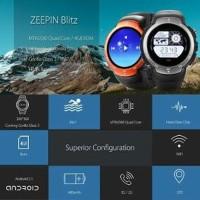 ZEBLAZE BLITZ IP67 Smartwatch Android 5.1 AMOLED Gorilla Gla BYsma1416