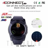 Smartwatch 4Connect V8 All GSM & Pedometer Smartphone Watch BYsma1265