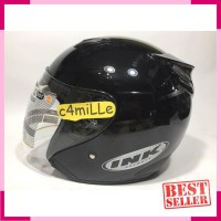 HELM INK CENTRO ORIGINAL BLACK HALF FACE