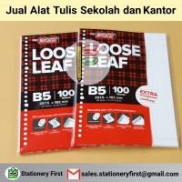Loose Leaf Kertas Isi File Binder B5 isi 100