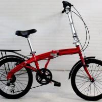 Sepeda Lipat Original 20 Genio cuzco New