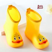 Rain BOOTS YELLOW (Sepatu boot anak anti air)
