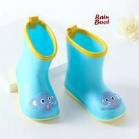 Rain BOOTS BLUE (Sepatu boot anak anti air)