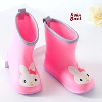 Rain BOOTS PINK (Sepatu boot anak anti air)