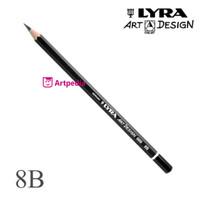 LYRA Art Design 669 Graphite Pencil 8B -Pensil Lyra 8B -Lyra Graphite