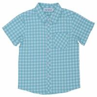 Baju Anak Laki-Laki Torio Basic Checkered Green
