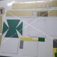 Pola Rumah Mewah 2 Lantai Tipe 2