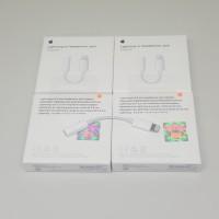 converter earphone apple/ lighting to headphone jack adapter apple