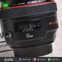 [SECONDHAND] Canon EF 50mm f1.2L USM - UA 0673 @Gudang Kamera Malang