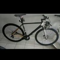 204aefece6c Fullbike Sepeda Bicycle Bend FX4 Disc Charcoal-Orange New Free Ongkir