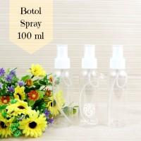Botol Spray Kosong 100ml Wudhu Refresher Perlengkapan Haji dan Umroh