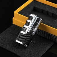PROMO Korek Api Lighter 3 Jet Flame Gas Butane with Cigar Punch