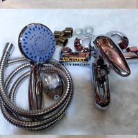 Harga kran keran air shower set bathtub mixer panas dingin water | Hargalu.com