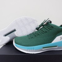 4853c8be7a09 SEPATU BASKET UNDER ARMOUR HEAT SEEKER LOW GREEN WHITE