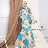 Maxi Emma (23) Mermaid Baju Muslim Wanita Gamis Model Kekinian Terbaru