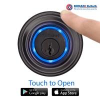Kunci Elektrik Smart Lock Kevo Gen 2 ELC.DB.925 Black (PROMO)