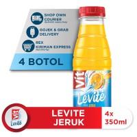 Levite Rasa Jeruk 350ml (4 botol)