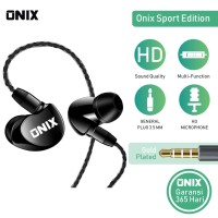 Onix Wired Headset SE-01- Bass Expert Karakter Suara KERAS+BASS