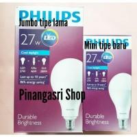 PRODUK ELEKTRONIK Lampu LED Philips 27 watt Bohlam 27w Philip Putih