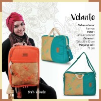 BIG SALE ! TAS 3 IN 1 HEEJOU VOLANTE / Tas laptop 14