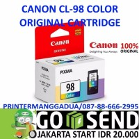 CANON CL98 COLOR TINTA CL 98 ORI PRINTER E500 E510 E560 E600 E610