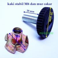 Kaki Stabil Plastik D20-M6
