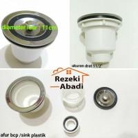 Saringan Bak Cuci Piring / Afur Sink Plastik Murah