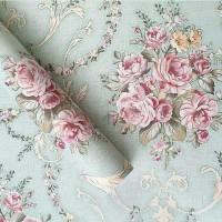 Harga wallpaper bunga batik hijau | Pembandingharga.com