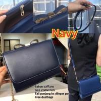 tas wanita murah import selempang branded CK BOW PITA