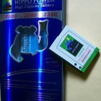 Baterai BB Storm 2 9520 / 9220 Batre Blackberry Hippo Double Power