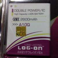 Baterai Double Power Evercross A10Q Log-on Batre Battery