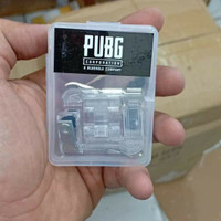 TERMURAH PAKET 3IN1 PUBG GAMEPAD TELUR  TRIGGER METAL V6   JOYSTICK