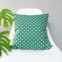 Sarung bantal sofa / Cushion cover - GREEN hole