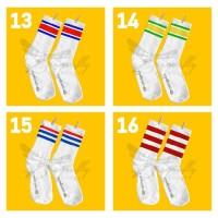 skate socks / oldschool socks / stripe socks