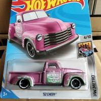 C0096-HOT WHEELS / HOTWHEELS-'52 CHEVY-PINK