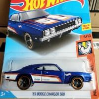 B0269-HOT WHEELS / HOTWHEELS-'69 DODGE CHARGER 500-BIRU