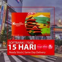 SIMCARD JEPANG 15 HARI 75 GB UNLIMITED | Japan Sim Card