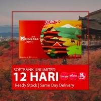 SIMCARD JEPANG 12 HARI 6 GB UNLIMITED | Japan Sim Card Kartu Data