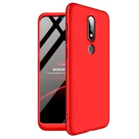 Nokia X6 / 6.1 plus 360 protection slim matte case