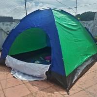 Harga promo tenda camping kapasitas 4 orang tenda dome alas terpal | DEMO GRABTAG