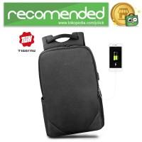 TIGERNU Tas Ransel Backpack 20L dengan USB Port - T-B3601 - Hitam