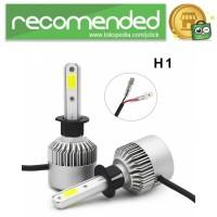 Lampu Mobil LED COB Headlight 8000LM 2PCS - S2 - H1