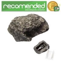 Kotak Penyimpanan Kunci Rahasia Bentuk Batu Hidden Key Box - B052195