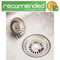 Saringan Penutup Lubang Bak Cuci Piring Sink Filter 7.8 x 3.1 cm - Si