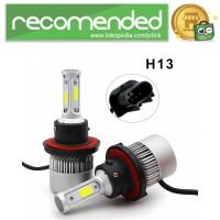 Lampu Mobil LED COB Headlight 8000LM 2PCS - S2 - H13
