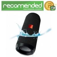 JDL Flip 4 Wireless Bluetooth Speaker Waterproof IPX7 - Hitam