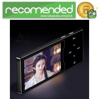 Ruizu D08 HiFi DAP MP3 Player 8GB - Hitam