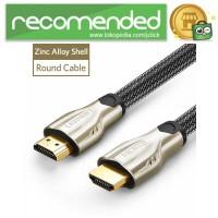 UGREEN Kabel HDMI ke HDMI 2.0 4K 60 FPS Zinc Alloy 2 Meter- HD102 - 2
